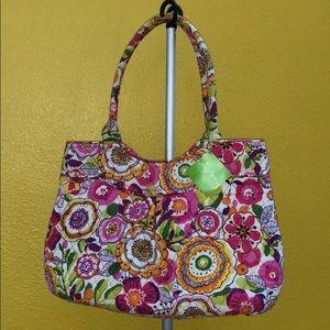 Vera Bradley Floral shoulder bag.